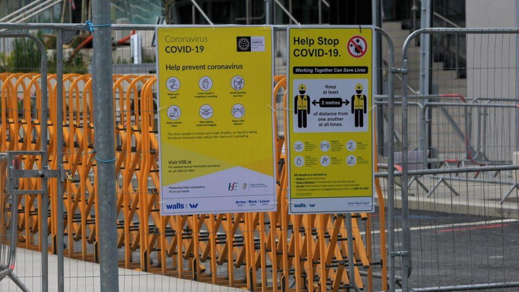 Building site Covid 19