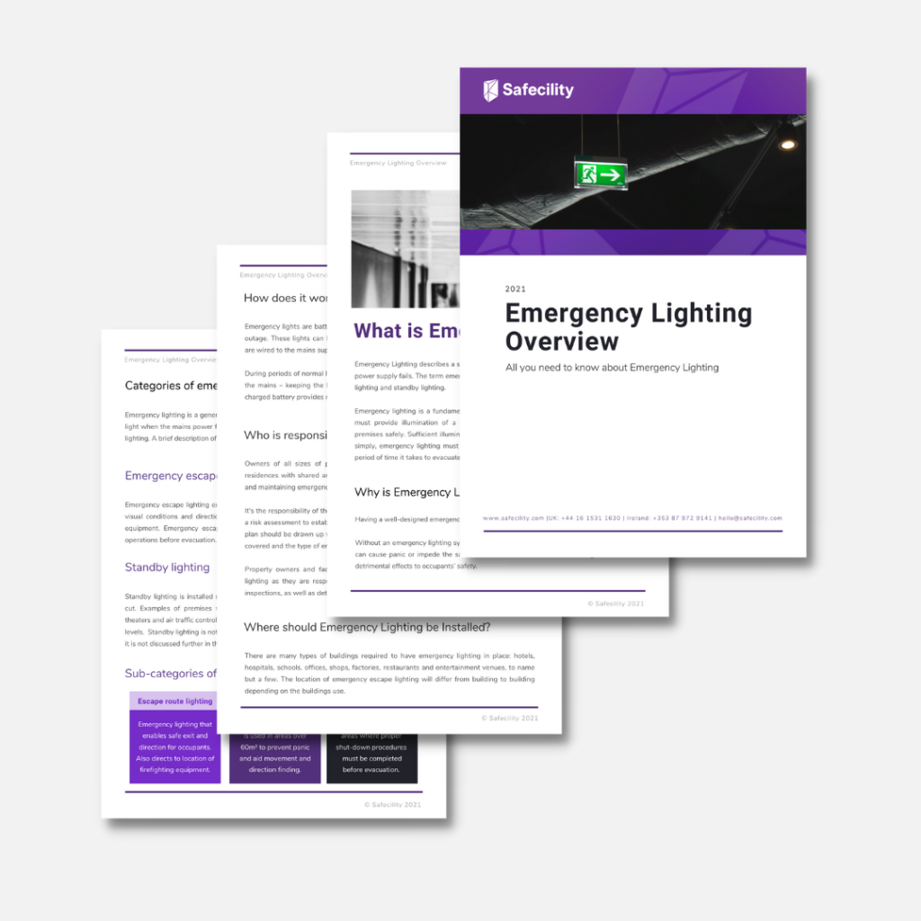 Emergency Lighting Overview 2021 3