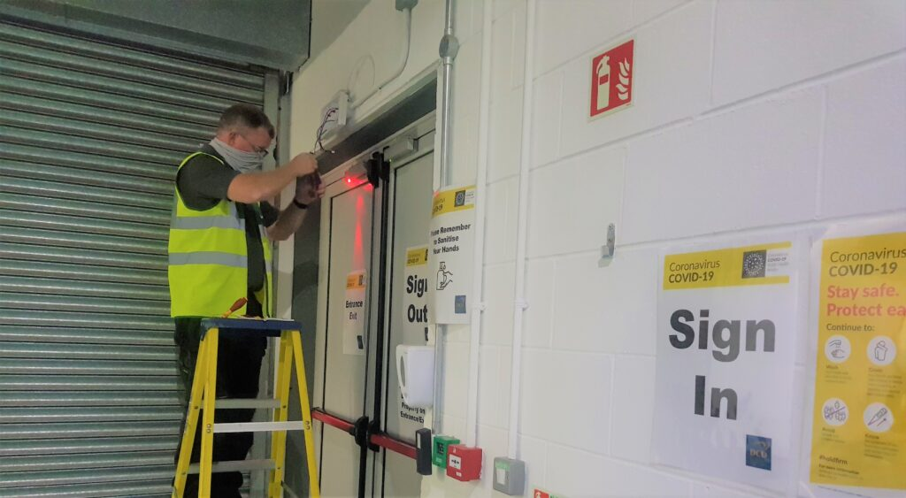 DCU Safecility Automated Emergency Lighting sensors