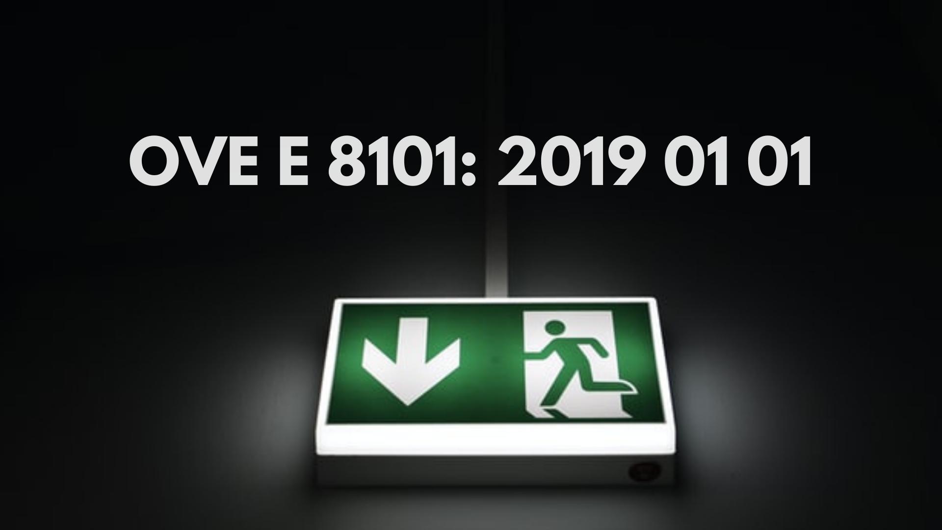 OVE E 8101 2019 01 01