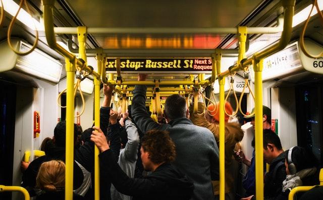 Carbon Dioxide levels on public transport